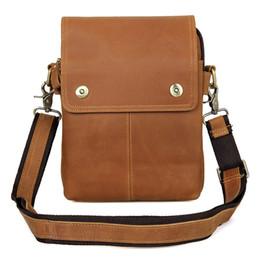 Wholesale Small Sling Shoulder Bags Men - JMD Genuine Leather Sling Bag Men's Small Shoulder Messenger Bags For Phone Purse Handbags 1006K