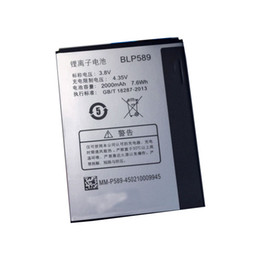 Wholesale Oppo Battery - ALLCCX high quality real capacity battery BLP589 for OPPO 3007 3000 3005 with good quality and best price