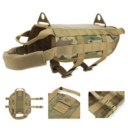 Wholesale Xs Dog Harness - Tactical Patrol Dog Training Harness Law Enforcement Dog Vest Hunting Airsoft sports Gear
