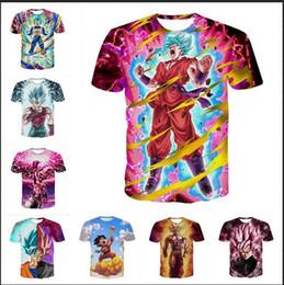 Wholesale Dragon Ball Z Clothes - Fashion Clothing Dragon Ball Z Casual T-Shirt Women Men 3D T-shirt Harajuku t shirt Summer Style Tops 2017.8.13.018