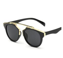 Wholesale Eyewear Children - HOT Brand New Design Summer Vintage Kids Sunglasses Children Oversized Steampunk Sun Glasses Eyewear gafas de sol mujer Z2
