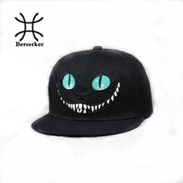 cartoon blue bunnies Promo Codes - Wholesale- New 2016 Alice in Wonderland Cheshire Cat cartoon baseball caps BUGS BUNNY SYLVESTER hats for Men and Women snapback hiphop bboy