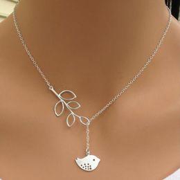 Wholesale Chunky Stainless Steel Chain - Wholesale 20PC Fashion Charm Jewelry Bird Choker Chunky Statement Bib Pendant Chain Necklace