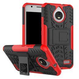 Wholesale Wholesale Xperia Play - Stand Hard PC TPU Case For Sony Xperia XA1 Ultra ZTE A520 Blade V8 MOTO Z2 Play E4 C Plus Ballistic Tire Tyre Hybrid Phone Skin Cover 10pcs