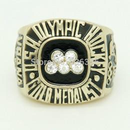 Olympische ringe online-1980 Olympische Hockey-Goldmedaillengewinnermeisterschaftsringe