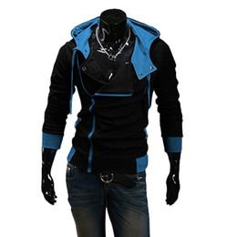 Wholesale Wholesale Men S Winter Jackets - Wholesale- Winter&Autumn Fashion Men's Hoodies Spring Casual Outwear Male Hoody Zipper Long Sleeve Sweatshirt Jacket Plus Size M-6XL