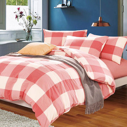 Wholesale Cotton Bedding China - (4 Piece) Bedding Sets, manufacturer   supplier in China, offering Fashion Hotel  Home Washed Cotton Bedding Set with Comforter Set.no1