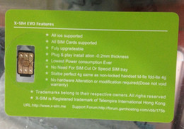 Wholesale X Carrier - X-SIM XSIM-3 The NEWEST Original Unlock LTE 4G+ for ios 11 and other iPhone carriers GPPLTE RSIM