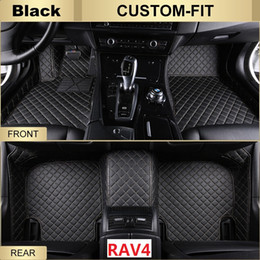 Wholesale Carpet Car - SCOT All Weather Leather Car Floor Mats for Toyota RAV4 Waterproof Anti-slip 3D Front & Rear Carpets Custom-Fits Right-Hand-Driver-Model