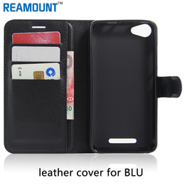 Wholesale Vintage Phone Book Cover - Wholesale for New Luxury Vintage Wallet Stand Book Style Leather Case For BLU Dash M2 Case Phone Bag Protective Cover Cases