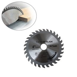 "Wholesale Diamond Cut Machine - Wholesale- HOT 4"" super thin turbo 115mm thick cutting disc diamond saw blade for tiles ceramic wood aluminum circular saw machines 30T 4"