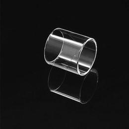Subox mini reemplazo de vidrio online-Tubo de vidrio de repuesto de Pyrex para el tanque secundario tanque superior mini subox mini c Smok TFV8 gran bebé TFV12 vape pluma 22 melo3 mini