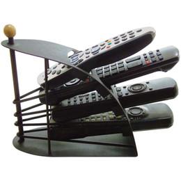 Wholesale Tv Remote Caddies - Best Selling Remote Control TV Holder   Storage Caddy - Black Metal Arched
