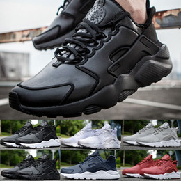Wholesale Iv 11 - 2016 New Design Air Huarache 4 IV Running Shoes For Women & Men, Lightweight Huaraches Sneakers Athletic Sport Outdoor Huarache Shoes 5.5-11