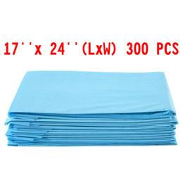 Wholesale Large Plastic Pet - 300 PCS 17 x 24 Puppy Pet Pads Dog Cat Wee Pee Piddle Pad training underpads
