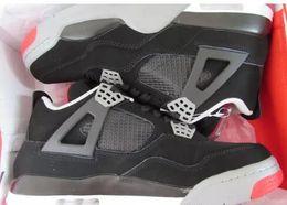 Wholesale Men Fashion Shoes China - 2017 us13 size men shoes Fashion China Top Quality Brand Designer retro 4 Men Basketball Shoes Cheap Sneakers White Cement US 8-12