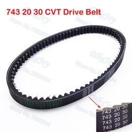 Wholesale Quad Buggies - Wholesale- 743 20 30 CVT Drive Belt For GY6 125 150cc 157QMJ Moped Scooter Buggy ATV Quad Go Kart Sunl Taotao Motorcycle Motocross