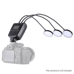 Wholesale Dslr Ring Flash - Travor ML-3D LED Macro Flash Speedlite GN31 5500K for Canon Nikon DSLR Camera