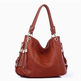 Wholesale Tassel Pu Hobo - Wholesale- Wholesale Tassels Women Handbags New Women Leather Handbags Fashionable Joker Famous Brand Women Shoulder Messenger Bags X608