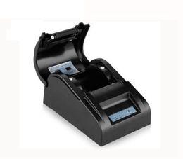 2019 weißer telefonkasten billig Mini Tragbare 5890 T Thermodrucker Papier Breite 58 MM Thermodirektdrucker Kompatibel Windows System Für Belegdruck