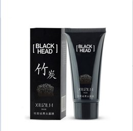 Wholesale face pulls - 50pcs Bamboo charcoal to remove black mask Deeply clean matte Get rid of acne Pull the mask contractive pore torn