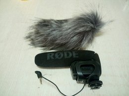 Wholesale Mic Windshields - Fit rode video mic pro artifical fur windshield,Microphone windscreen cover,Furry outdoor microphone windscreen muff
