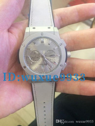 Wholesale Variety Frames - 2017 luxury new models quartz chronograph, gray dial, gray belt, gray frame, a variety of colors to chooses watches