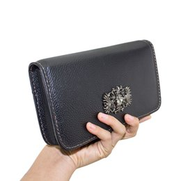 Wholesale Portable Ecig - ecig leather case vape portable carrying case vape traval handbag made by pure leather also can put iphone