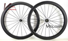 Wholesale U Wheels - NEW arrival,Rear wheel Asymmetrical 50mm clincher tubular Full carbon bike wheelset, ,700C road bike wheel,wider U shape rim