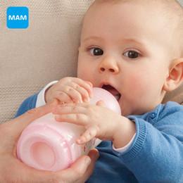 Wholesale 9oz Feeding Bottle - Wholesale-MAM Anti-Colic newborn Baby Milk Bottle child Feeding 260ml 9oz kids cup child nurse bottle PP Material Free Shipping