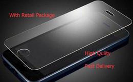 S6 protezione a schermo temperato online-Per Iphone X Iphone 8 7 7 plus 6 J7 2017 LG Stylo 3 Pellicola proteggi schermo in vetro temperato per Samsung S6 S7 EP Premium Packag di alta qualità
