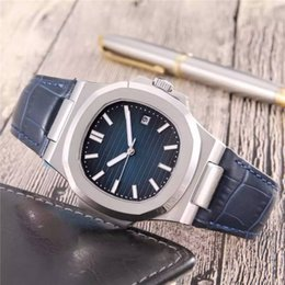 Wholesale Price Listing - Wholesale Price New Listing Classic Design Mens Wristwatch High quality Original Mechanical Movement Cow Genuine Leather Band