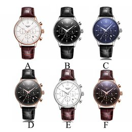Wholesale Stone Business - GUANQIN Watch Men Luxury Top Brand Big Dial Designer Quartz Watch Male Multifunction Casual Wristwatch Men's Business Clock Hour 1509005