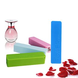 Wholesale Perfume Powerbank - Perfume Power Bank USB External Backup Battery for IPhone 8 7 plus 6s plus Charger Powerbank Mobile Power for Samsung S8 S7 edge
