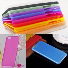 Wholesale Iphone 5c Plastic Matte - Matte Transparent Ultra-thin 0.3mm Back Case For iPhone 7 7plus 5 5S 5c SE 6 6s 4.7 plus 5.5 PC Protective Cover Skin Case for Samsung Shell