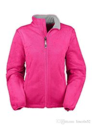 Wholesale America Free Jacket - Free Shipping Classic Lady Denali Warm Hooded Wool Jacket Sports Outdoor Winter Warm Face 5 Colors from North America