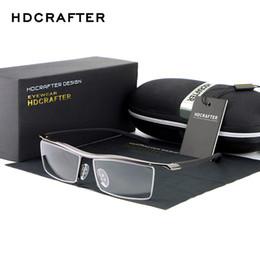 Wholesale Wholesale Mirrors Plain - Wholesale- HDCRAFTER 2017 Reading Glasses Frame Optical Computer Radiation-Resistant Myopia Eyeglasses Plain Mirror Sunglasses oculos