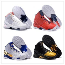 Wholesale Shoes Wave Man - High Quality Free Shipping Curry 2 Waves MVP Basketball Shoes Men Stephen Curry Shoes White Black Sport Sneakers