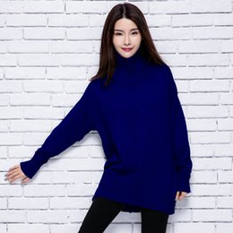 Wholesale Womens Warm Winter Sweaters - Wholesale-2016 womens winter Cashmere sweaters and Turtleneck women High Quality Warm Female thickening Warm Pullovers