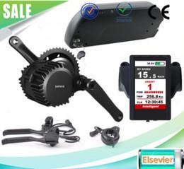 Wholesale Electric Bike Kits Battery - EU no tax 48V 1000W bafang mid drive bafang electric bike motor kits with 48V 17.5Ah Li-ion Dolphin ebike battery