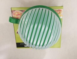 Wholesale Bowl Maker - 60 seconds salad Maker bowl cut fruit vegetables cutter bowl Creative kitchen tools big large plastic mixing set adapter