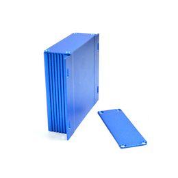 Wholesale Aluminum Electronic Boxes - aluminum case for electronics project box (10 pcs) 28*104*85mm aluminum equipment case wall enclosure outlet boxes AK-C-A4