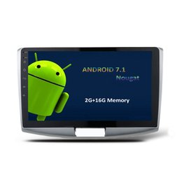 "Wholesale Car Radio Double Din Android - 10.1"" Android 7.1 Double Din Car Radio For Volksagen Passat CC B6 B7 206-2015 GPS Navi Car DVD SWC OBD DVR BT 4.0 2G RAM 16G ROM Quad Core"