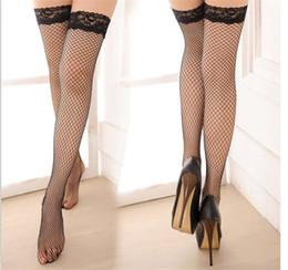 Le reti pesci sexy delle donne online-Calze sexy di Fish-net del merletto del calza sexy della calza sexy della donna di vendita calda Trasporto libero