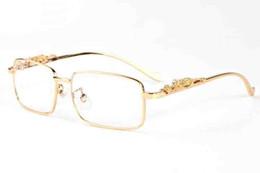 Wholesale Hot Sale Leopard - 2017 Hot Sale Women Sunglasses Oculos De Sol Buffalo Horn Glasses For Men Elegant Sun Glasses Leopard Head Design Eyewear