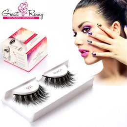 Wholesale Mink Fur Wholesale - 1 pair Mink Fur and 9 pairs Premium Fiber Hand-Made Eyelashes Lightweight and Comfortable Reusable Black and Brown 10pairs Travel Eyelashes