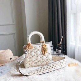 Wholesale Bag Handle Strap - bags handbags women famous brands Embroidered bag fringe crossbody shoulder strap bag luxury designer leather top-handle bags