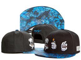 Wholesale Kpop Hats - Fashion Cayler & Sons Snapbacks Hats Kpop Cotton Adjustable Sun Caps For Adults Mens Womens Sports Strapback Hip Hop cap