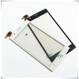 fly phone screen Promo Codes - Wholesale- 5.0 inch Phone Touchscreen Panel For Fly FS501 Nimbus 3 FS 501 Touch Screen Digitizer Front Glass Sensor With Tracking Number