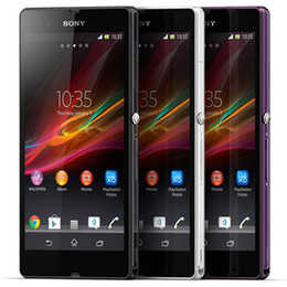 Deutschland Refurbished Original Sony Z C6603 5,0 Zoll Quad Core 2 GB RAM 16 GB ROM 13.1MP Kamera Android 4G LTE Smart Handy DHL 5st Versorgung